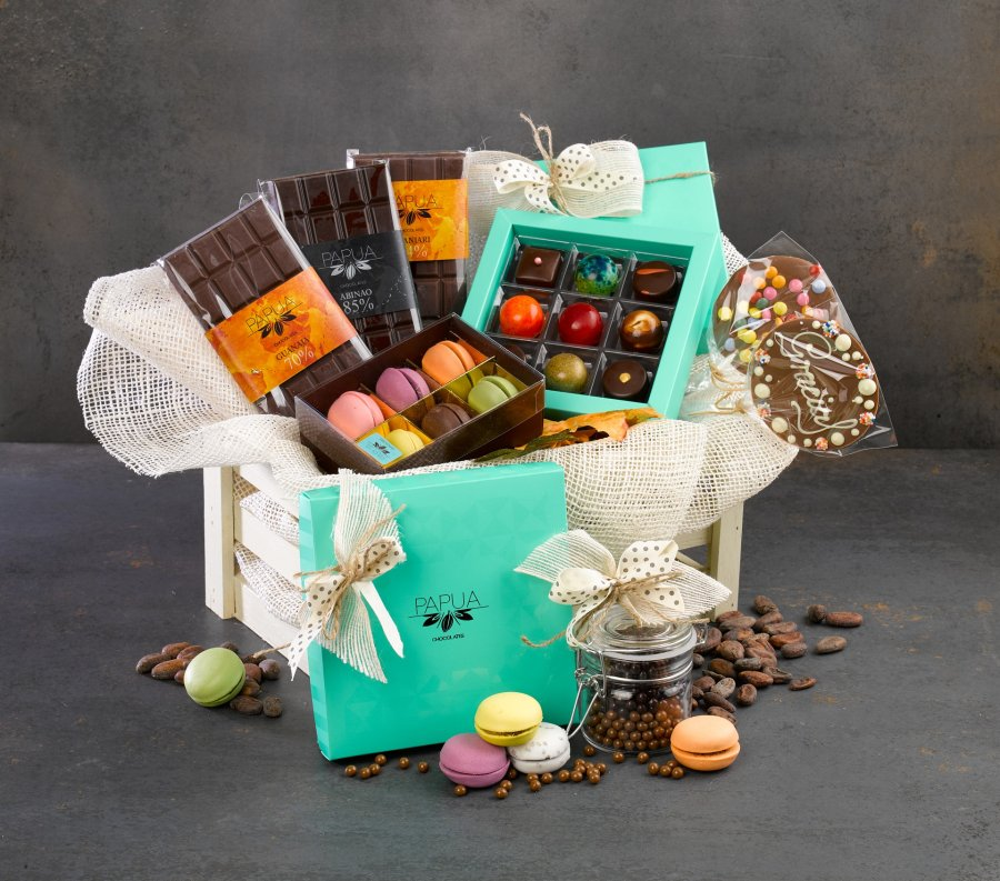 presentkorgar choklad